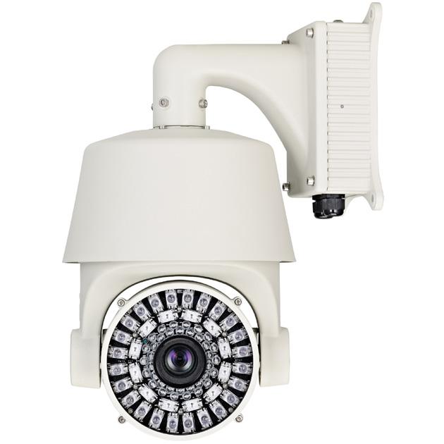 Color / Mono. External IR Speed Dome, 432X Power Zoom 1