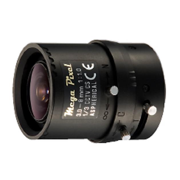 3~8mm Megapixel and Manual IRIS Lens 1