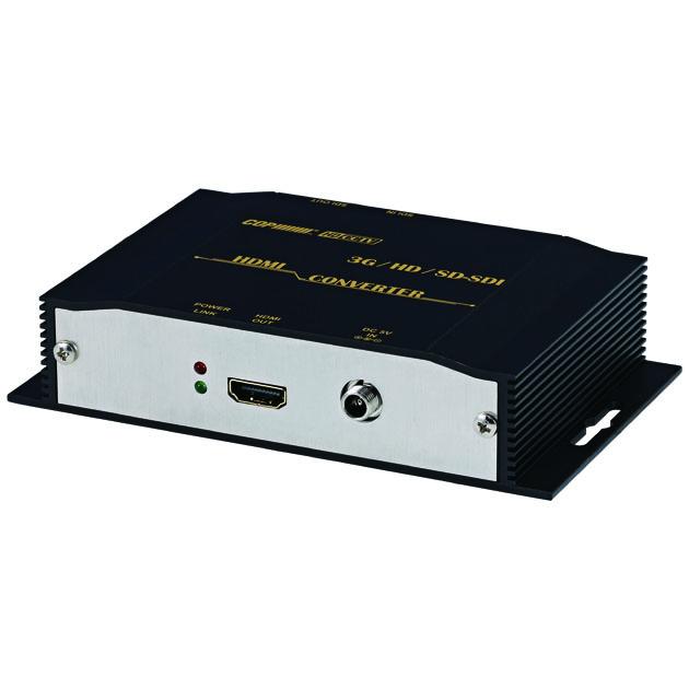 具有環通輸出的 3G/ HD/ SD-SDI 轉 HDMI轉換器 1