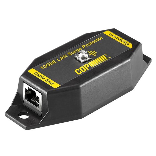 1 Port 10GbE Isolation LAN Surge Protector, 15KV 1