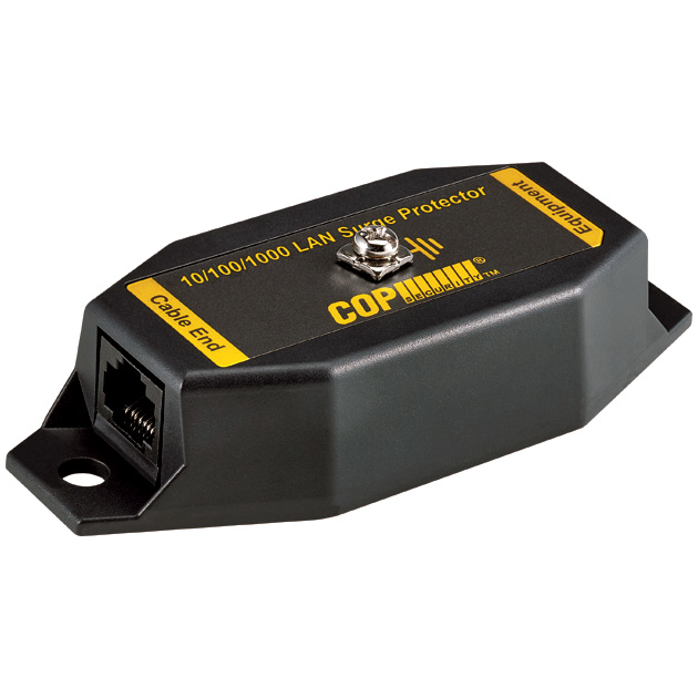 1 Port 10/100/1000 Mbps Isolation LAN Surge Protector, 6KV 1