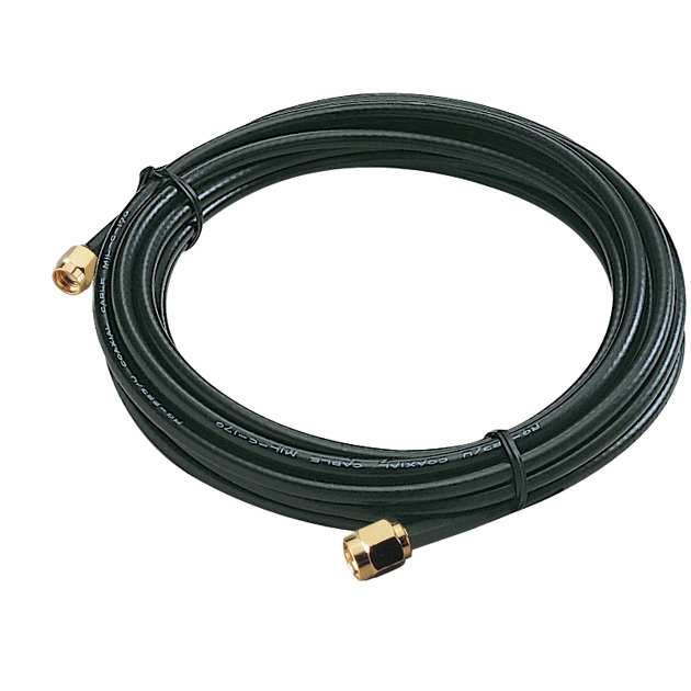 UP to 6GHz, Wireless Extension Cable + RG-58 + RP-SMA Male to SMA Male + 3M 1