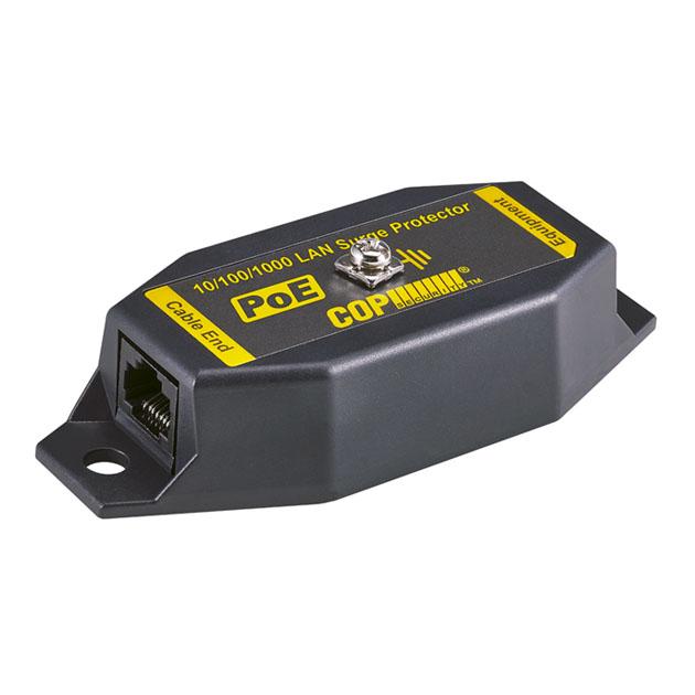 1 Port 10GbE PoE LAN Surge Protector, 10KV 1