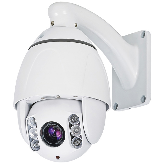 2MP 10X 4-in-1 Outdoor IR PTZ Camera 1