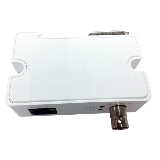 Ethernet Power Over Coaxial Transmitter and Receiver Kit 1