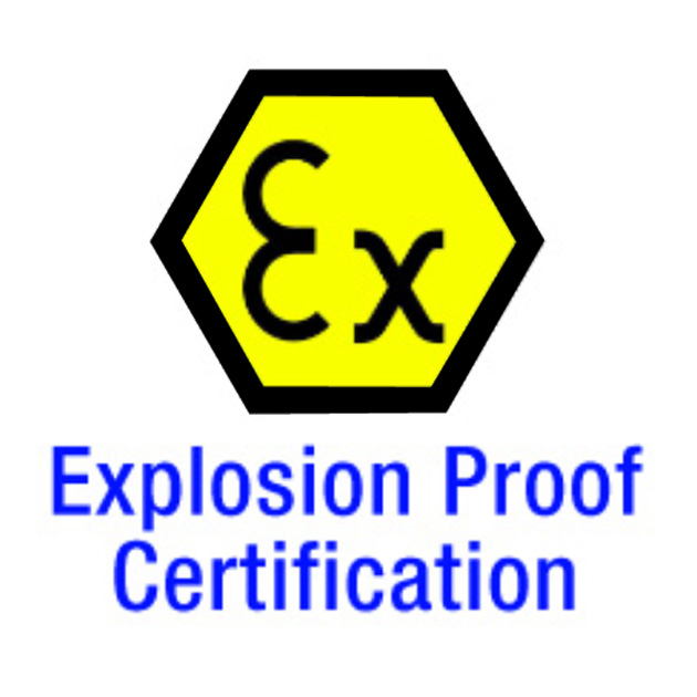 Explosion Proof Certification 1
